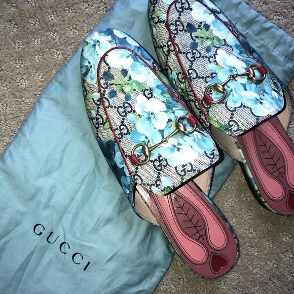 7e3ae6a2fce Gucci Shoes - Authentic Gucci blue blossom Princeton EU 40  9
